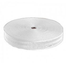 Webbing white 50mm