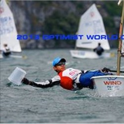 VELA  OPTIMIST Olimpic Sails HAPPY